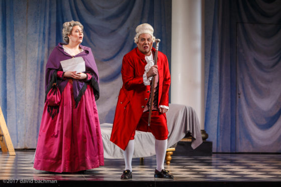 Pittsburgh Opera production of Le Nozze di Figaro. Photos by David Bachman
